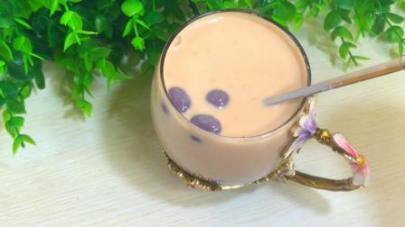 紫薯奶茶 自己做的健康又好喝
