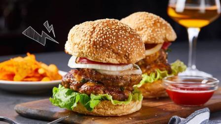 美食台 | 肉欲满满、口口飙汁, 汉堡这样做!