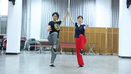罗子真老师太极拳教学-杨氏太极拳教学-斜飞式02