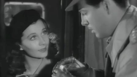 奥斯卡金曲《友谊地久天长》经典黑白电影<魂断蓝桥>主题曲, 费雯·丽好美!
