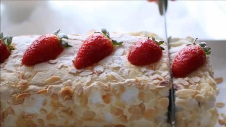 家居点心草莓奶油酥皮卷制作方法, 吃货小伙伴有口福了