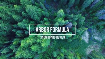 专业滑雪装备测评_ Arbor 雪板科技都在这块2019 Formula 单板里了
