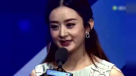 李易峰心目中的老婆居然是赵丽颖, 赵丽颖脸红了!