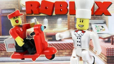 「妞宝宝」虚拟世界Roblox披萨店 当一个好老板真的很难 乐高小游戏