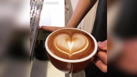爱心咖啡拉花