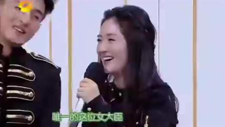 谢娜钟汉良狂飙粤语, 谢娜说了一句话, 钟汉良差点笑岔气!