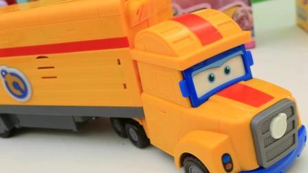 超级飞侠卡尔叔叔玩具拼装多多玩具变形机器人