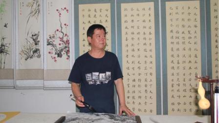 河南省著名书画家付天才