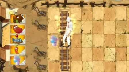 植物大战僵尸: 植物 VS 真人版僵尸 椰子加农炮被自己的炮打了