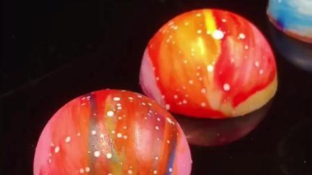 广州西点培训网红新品20大网红之星空巧克力