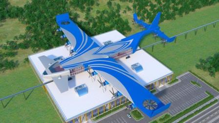 会飞的火车, 不会飞的飞机, 未来出行的新交通工具!