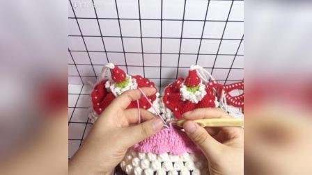 草莓蛋糕束口包教程-12