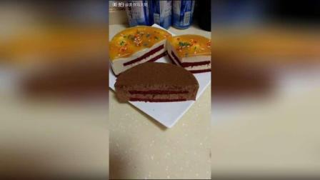 自己做的巧克力慕斯蛋糕, 和芒果慕斯蛋糕