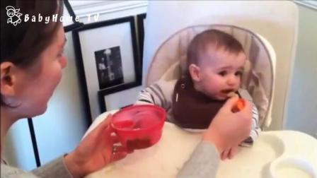 喂孩子吃饭有多难? 看完这个视频你就知道了, 太