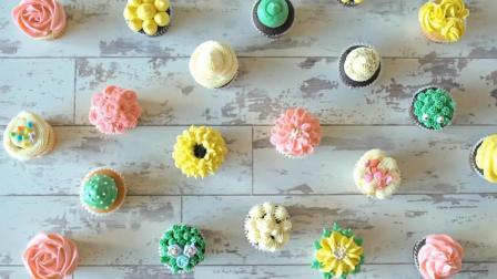 这10种裱花技巧太实用, 就算手被二哈啃过, 都能做出这么美的蛋糕