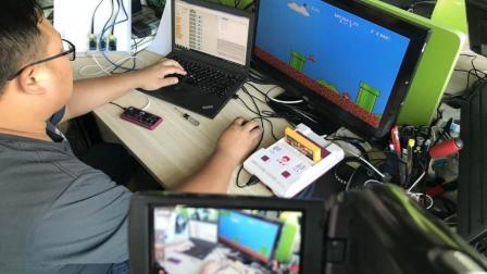 少儿编程教育工具scratch与arduino智能控制任天堂fc超级玛丽大通关