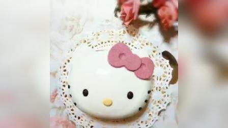 kitty 猫慕斯蛋糕制作教程