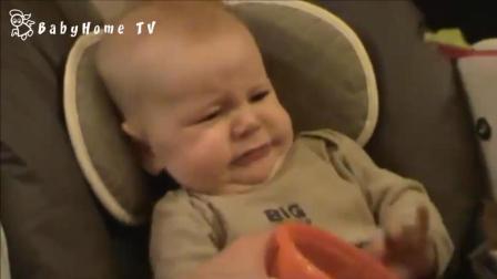 熊孩子吃了芥末的反应太搞笑了! 网友: 表情亮了!