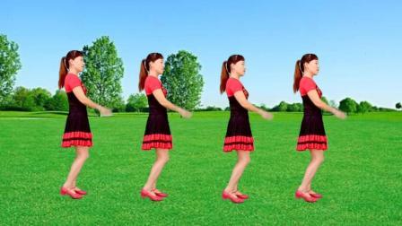 玫香广场舞《火辣辣的山里红》16步简单易学, 适合初学者