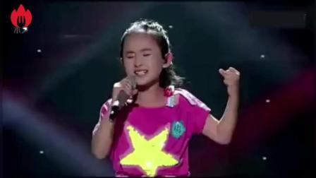 张钰琪一曲(最初的信仰)燃爆全场、这声音真是太棒了!