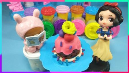 灵犀小乐园之美食小能手 白雪公主给读书熊制作草莓酱蛋