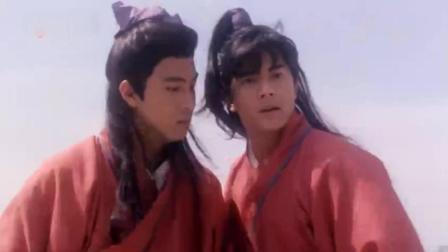张卫健和郭富城想试探老师武功, 结果硬是挺着被暴打一顿也不肯暴露