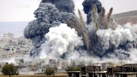 谈判失败叙军重新进攻, 俄军轰炸精度惊人, 戈兰高地附近一片火海