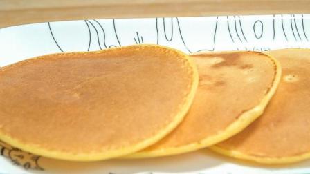 1杯酸奶, 2颗鸡蛋做早餐饼, 不用一滴水, 好吃又好看, 做法一看就会