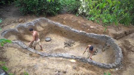 【苹果兄弟】荒野生存32 足迹泳池(1)