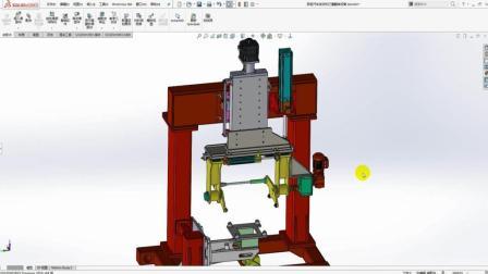 非标设计-汽车发动机缸体打磨翻转设备的设计