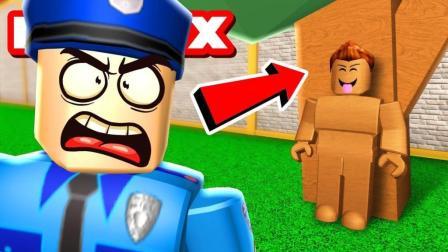 小格解说 Roblox躲猫猫模拟器: 小格爆笑变形记! 名侦探寻找破绽! 乐高小游戏