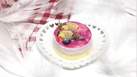 手作黏土果酱蛋糕教学