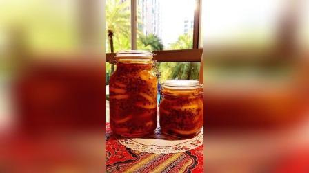 《百香果柠檬蜂蜜水》 美容又好喝!