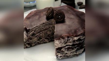 巧克力奥利奥千层蛋糕制作