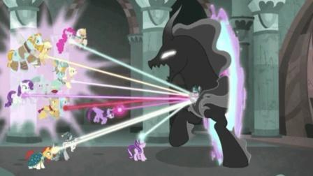 小马宝莉: 星璇联合大家驱逐暗影之马, 紫悦用友谊感化了斯提吉安