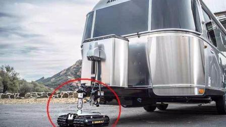 一辆小小的遥控车, 能拉动4吨重的拖车, 多少匹马力?