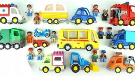 组装小汽车玩具