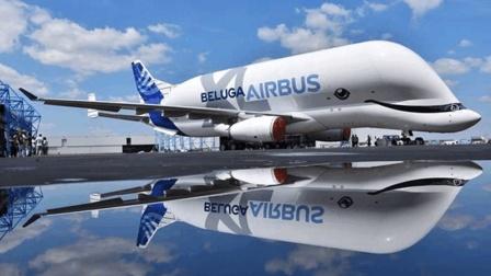 环球科技扫描 载荷53吨! 空客超级大白鲸首飞成功, 能放进A330的整个机身