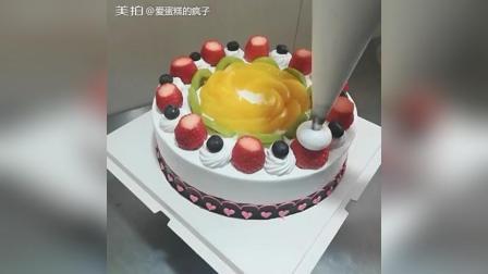 双莓水果奶油蛋糕制作教程