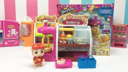 哆啦盒子玩具时间 2017 女孩玩具蛋糕烘焙套装过家家购物精灵糕点店