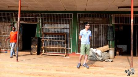 非洲马拉维老首都, 松巴的街头, 看起来很多店铺都是印度人开的