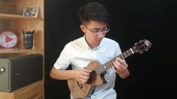 《纸短情长》尤克里里指弹张紫宇uku魔术师全单尤克里里 靠谱吉他