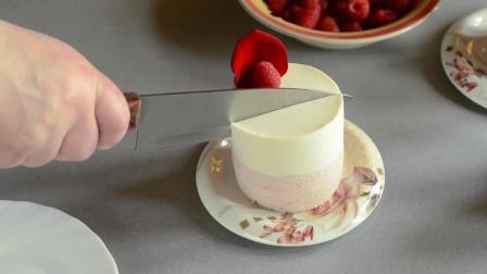 覆盆子荔枝慕斯蛋糕制作, 比甜品店买来的都好吃