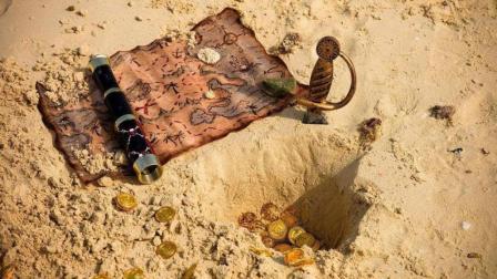 古老神秘的沙漠深处, 有消失的文明还是失落的宝藏?