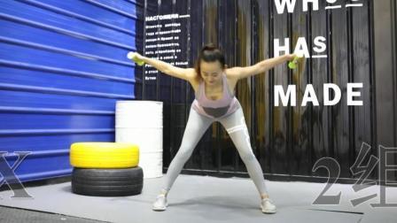 专为懒人打造的简易瘦身操, 每天1分钟, 坚持一周打造美背美臂