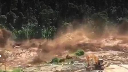老挝一水电站大坝溃堤 冲走数百人生死不明