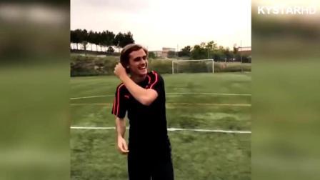 足球运动员们的有趣搞笑时刻