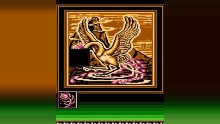 FC游戏《火之鸟》, 这张小鸡吃米图我拼了20年