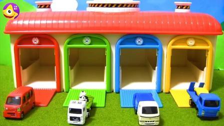 铠甲勇士的魔法停车库宝宝汽车玩具