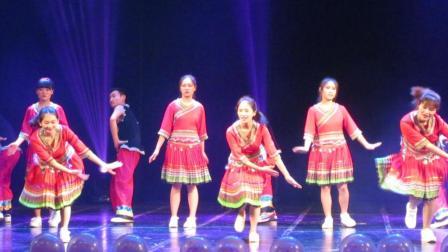 傈僳族舞蹈【傈僳祝酒歌】云南民族大学 少数民族舞蹈大赛